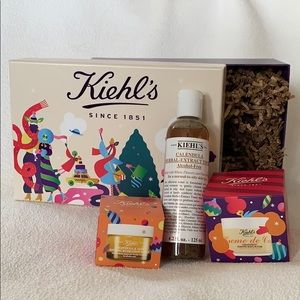 Gift Box + NEW Kiehl's Products for Christmas